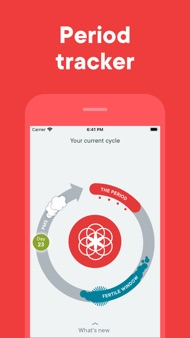 Clue Period & Cycle Tracker iphone images