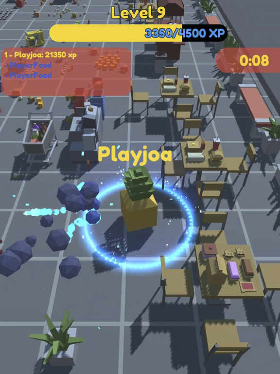 Food.io - Food Battle screenshot 4