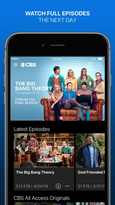 CBS - Full Episodes & Live TV app image