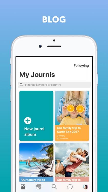Journi Blog: Travel Journal