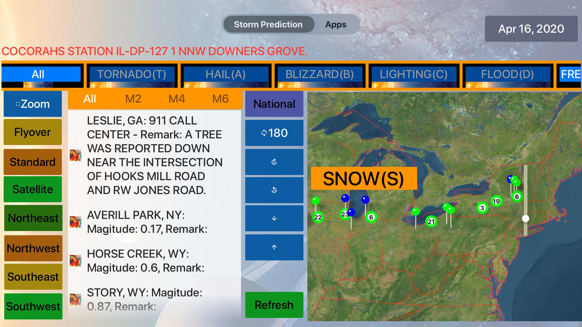 Instant NOAA Storm Lite screenshot 13
