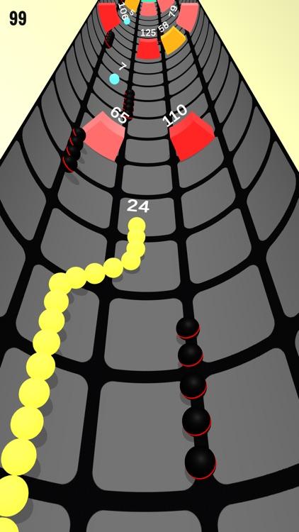 Rolly Snake Vs Vortex Block screenshot-5