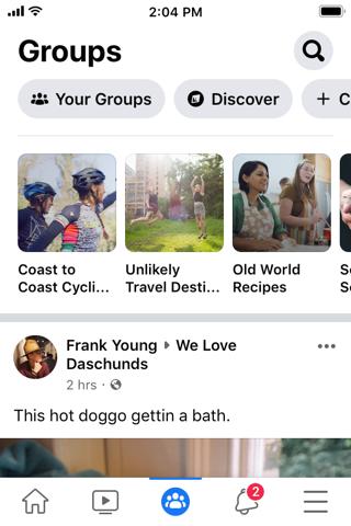 Facebook - náhled