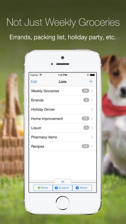 Grocery Gadget Lite screenshot-4