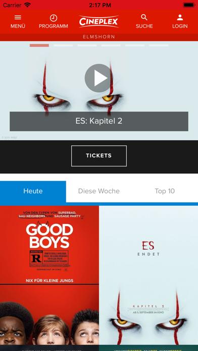Herunterladen CINEPLEX Kinoprogramm für Pc