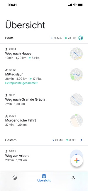 Google Fit – Aktivitätstracker Screenshot