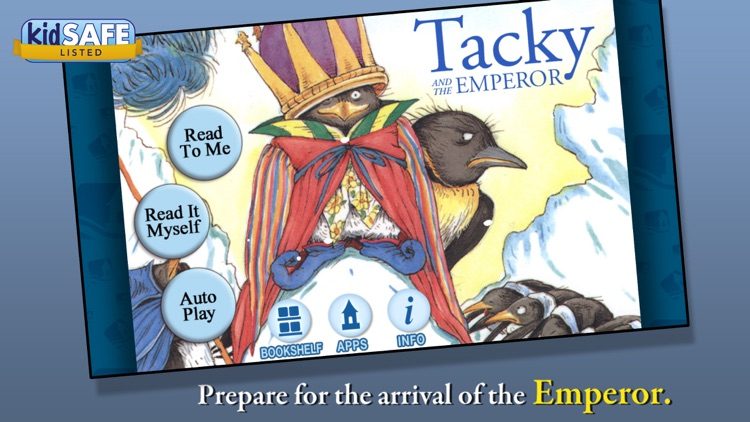Tacky and the Emperor