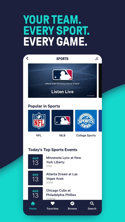 TuneIn Pro - Radio & Sports screenshot-5