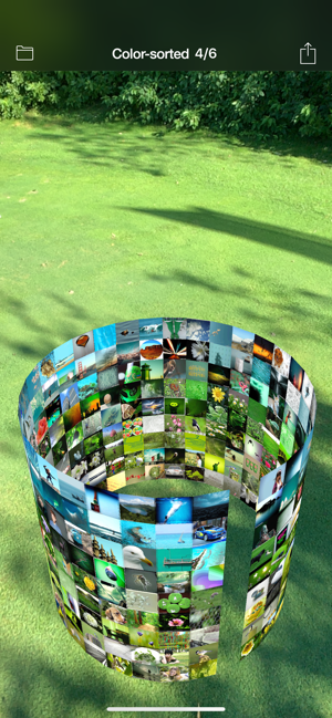 ‎3D Photo Ring - Album Browser Screenshot