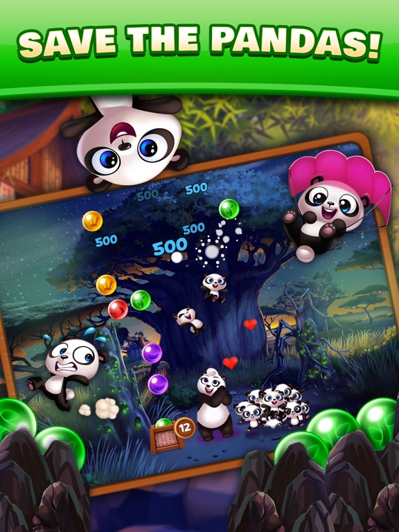 Panda Pop! Bubble Shooter Game-ipad-2