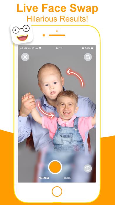 Face Swap Video: Tune Face App
