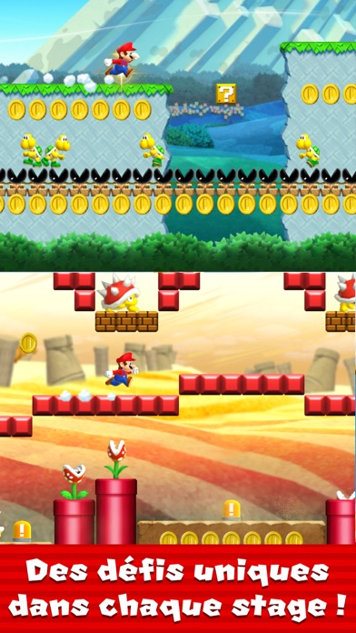 Screenshot for Super Mario Run in France App Store