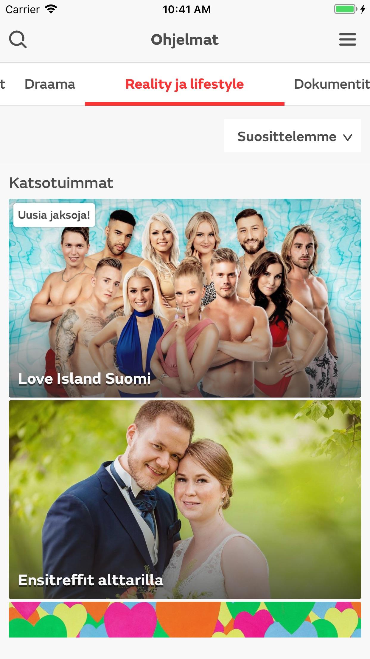 mtv Suomi Screenshot