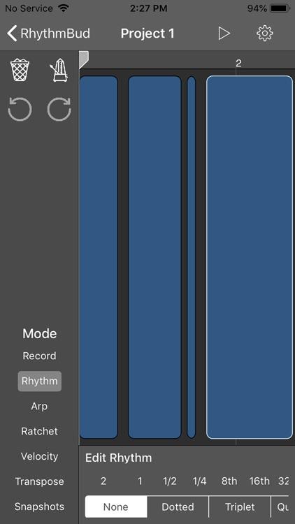 RhythmBud - AUv3 MIDI FX screenshot-5