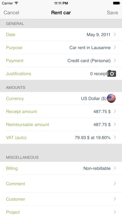 My iExpenses Pro screenshot-3