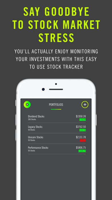 株式市場の追跡と損失の警告を停止のスクリーンショット1