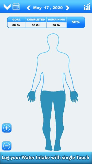 Daily Water Reminder & CounterScreenshot of 3