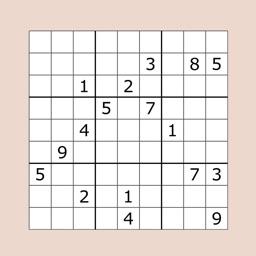 Sudoku Puzzle for Brain Train