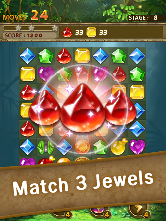 Jewels Jungle : Match 3 Puzzle screenshot 11