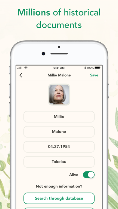Search Family Tree History Screenshot 3