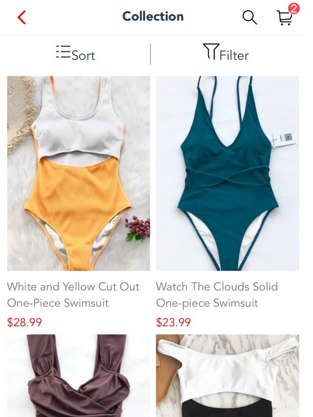 a52216c438a  Cupshe - Swimsuit Fashion Shop on the App Store