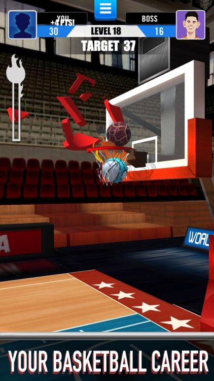 Score King-Basketball Games 3D screenshot-7