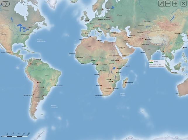 Cartina Mondo Politica Con Capitali.Cartina Africa Con Stati E Capitali