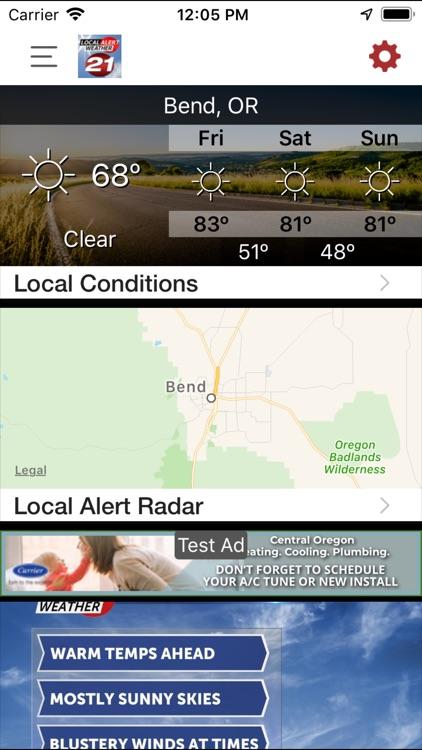 KTVZ Local Alert Weather App screenshot-4