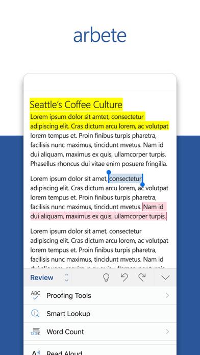 Microsoft Word på PC