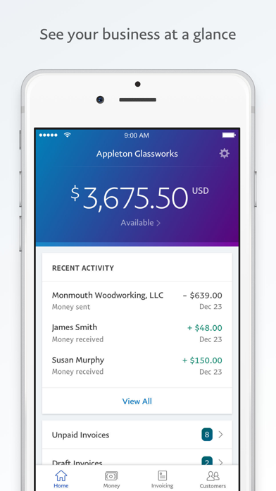 cancel PayPal Business: Invoice Maker app subscription image 1
