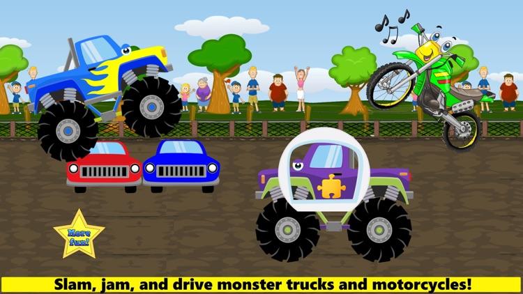 Monster Truck Games! Racing screenshot-0