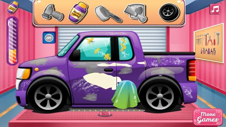 Clean Car Wash Game And Repair screenshot-6