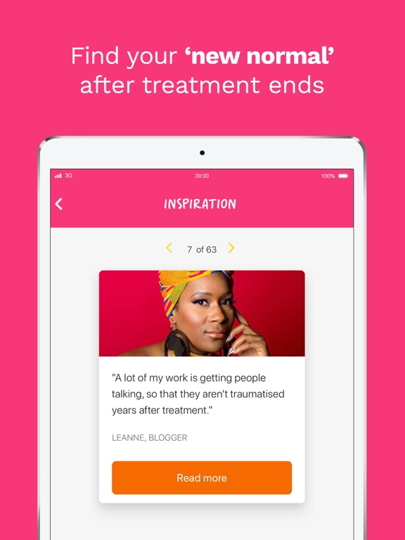 Becca - Breast Cancer Support screenshot