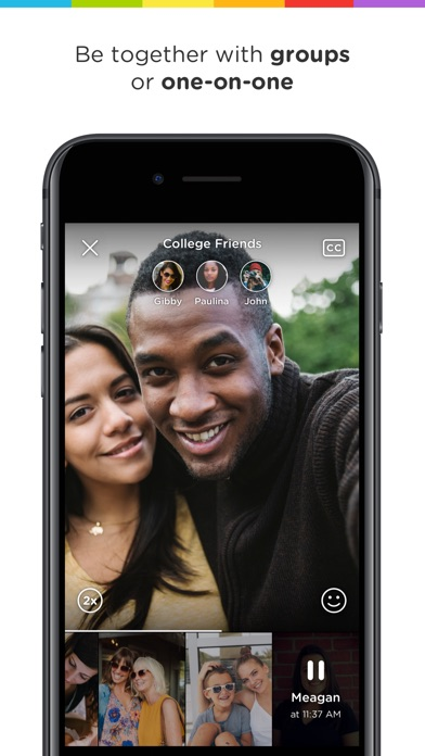 Marco Polo - Video Chat Screenshot on iOS