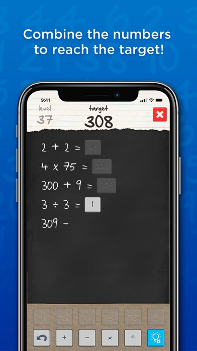 6 Numbers by Brainbow app image