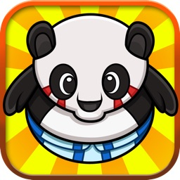 Tiny Sumo Panda : Ninja bear Royal whipeout tap fighting games for Iphone, Ipad & Ipod touch