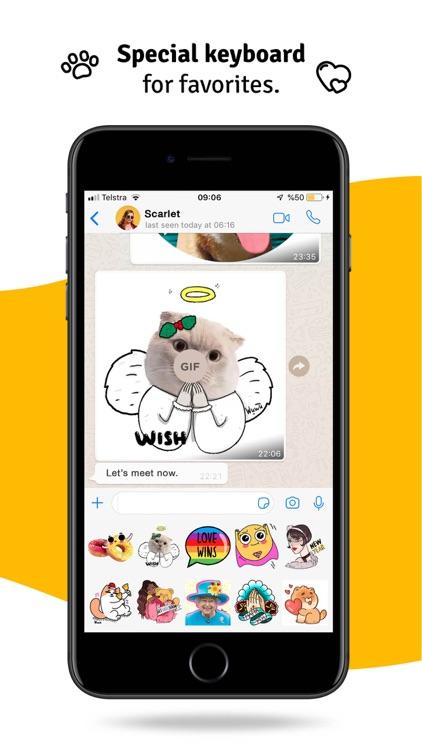 WuWu Emoji Gif Sticker Library screenshot-5