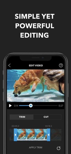 what is the best free video editor for iphone