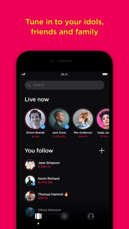 Popout-live social audio app screenshot-3