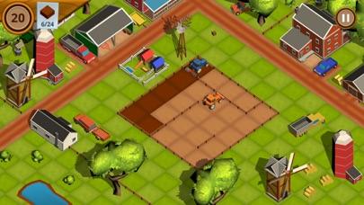 TractoRush : Cubed Farm Puzzle screenshot 1