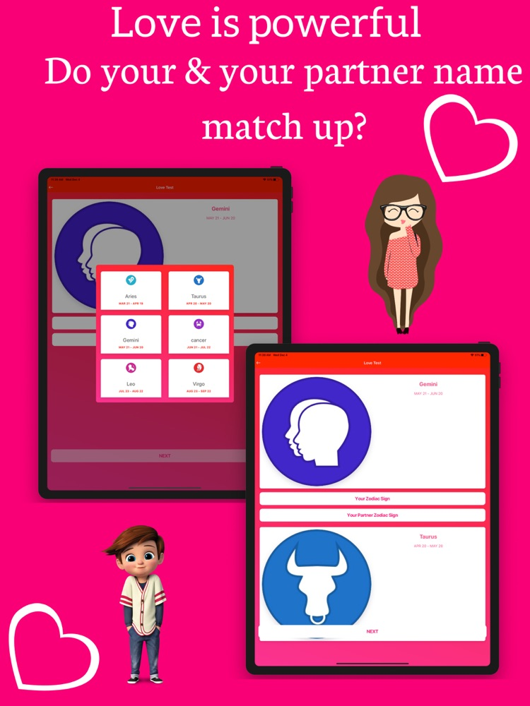 Love Test Compatibility Quiz App for iPhone - Free
