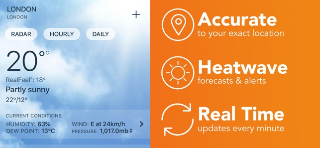 AccuWeather: Weather Radar on the App Store