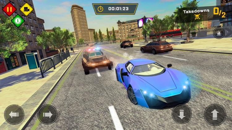 Police Car Chase Games 2020 screenshot-4