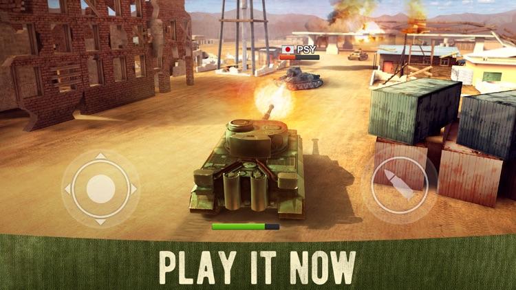 War Machines: 3D Tank Game screenshot-0