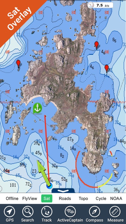 Adriatic sea HD Nautical Chart screenshot-0