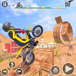 Tricky Stunt Bike Game