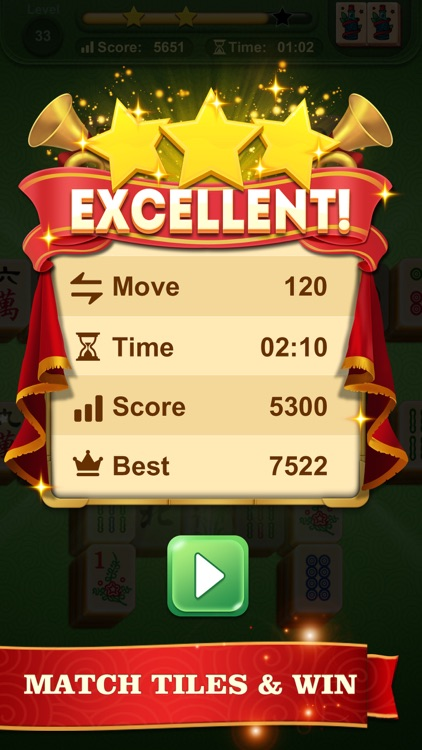 Mahjong Solitaire: Match Tiles screenshot-3