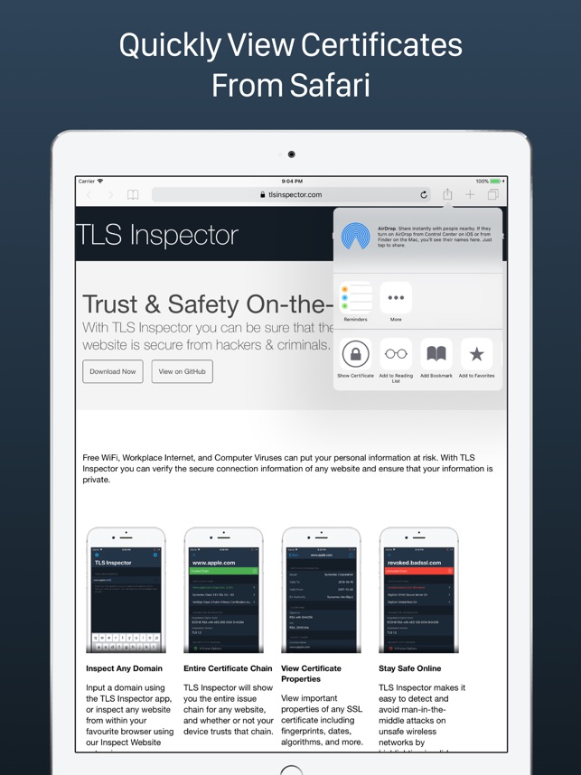 TLS Inspector on the App Store