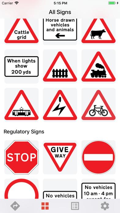 UK Traffic Signs screenshot two