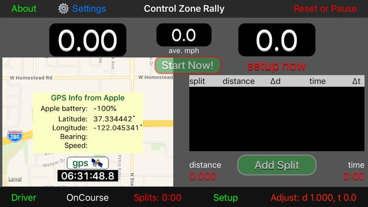 Control Zone Rally screenshot-4
